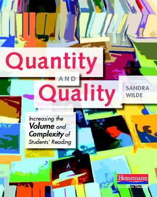 Quantity and Quality By Wilde, Sandra